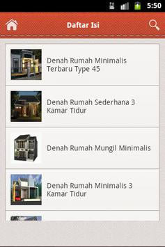 Desain Rumah Minimalis 3D apk screenshot