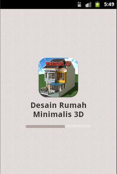Desain Rumah Minimalis 3D poster