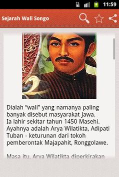 Sejarah Wali Songo apk screenshot