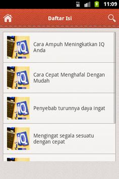 Tips Meningkatkan IQ apk screenshot