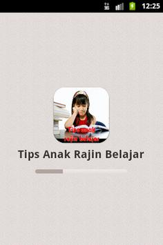 Tips Anak Rajin Belajar poster