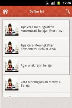 Tips Anak Rajin Belajar apk screenshot