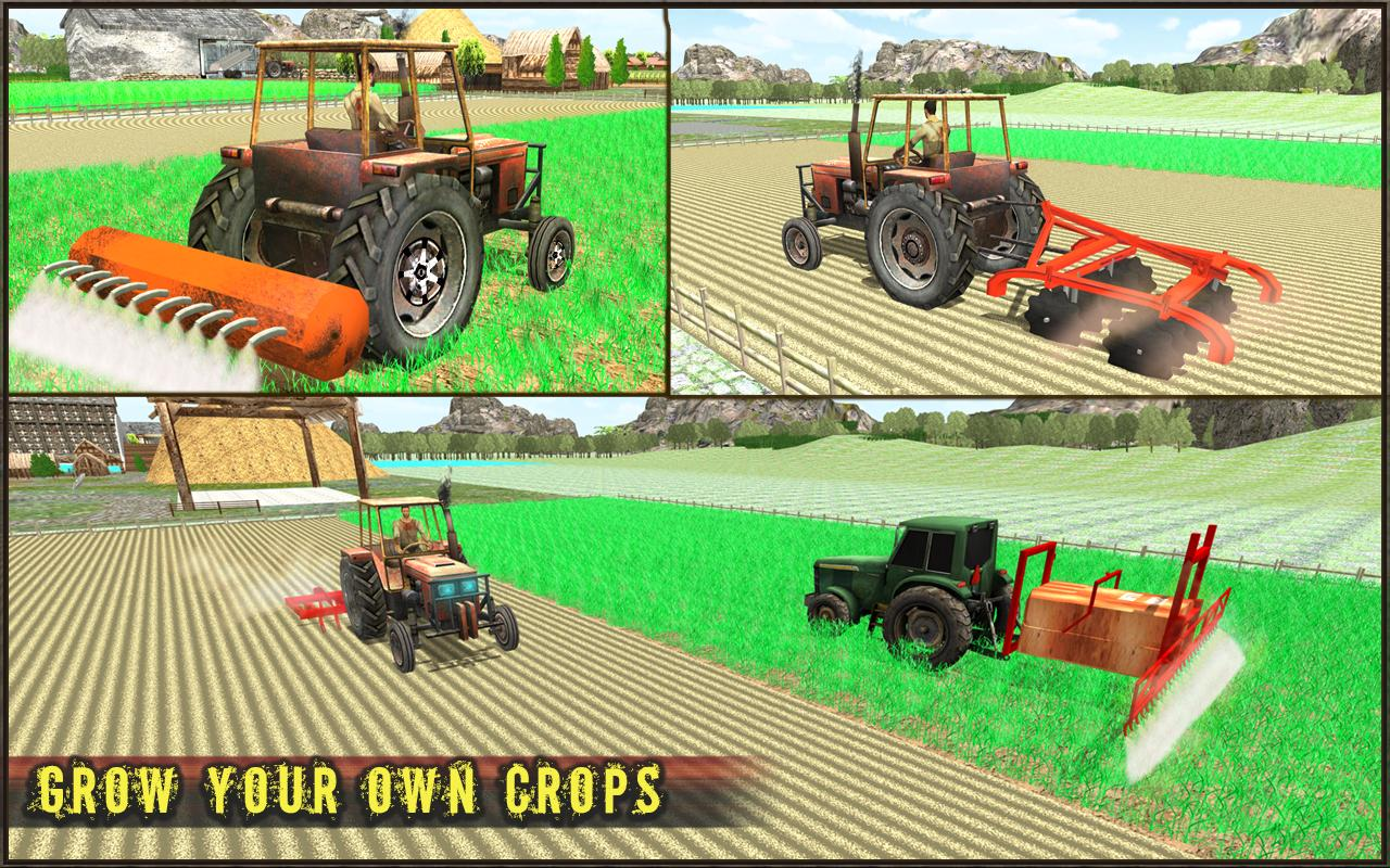 Farm Tractor Simulator - Heavy Cargo Truck Driving