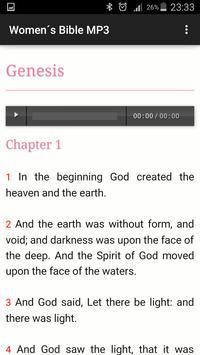 Women´s Bible MP3 apk screenshot