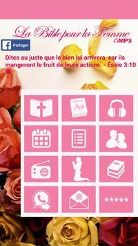 La Bible pour la Femme MP3 apk screenshot
