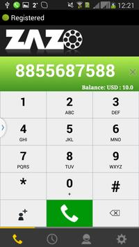 ZAZO Mobile Dialer apk screenshot