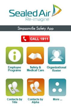 Sealed Air Safety App poster