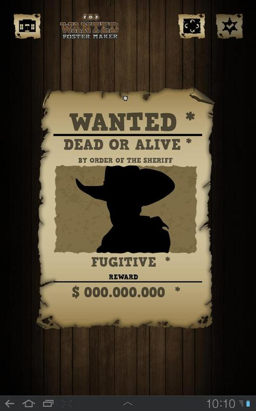 Wanted Poster Maker Editor APK Download - Free Photography ...
