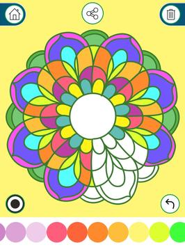 Coloring Book for Adults Relax apk screenshot
