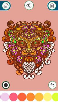 Coloring Book for Adults Relax poster
