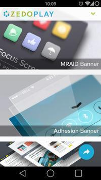 ZEDO Play - Ad Showcase poster