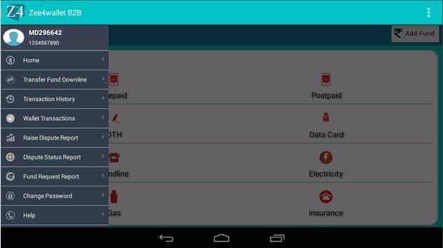 zee4wallet B2B apk screenshot