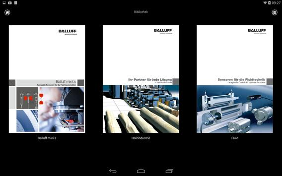 Balluff Product Catalog apk screenshot