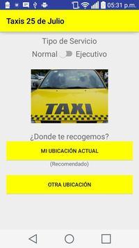 Taxis 25 de Julio apk screenshot