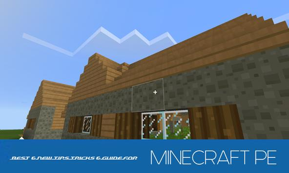 Crafting Guide Minecraft: PE poster