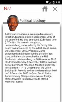 Nelson Mandela's Biography 2.0 apk screenshot