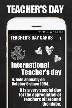 Teacher's Day Wishes Cards poster
