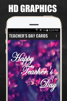 Teacher's Day Wishes Cards apk screenshot