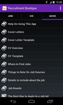 Jim-Recruitment Boutique Guide apk screenshot