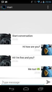 Zero Messenger apk screenshot