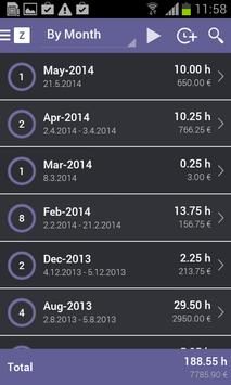 Zervant Time & Expense Tracker apk screenshot