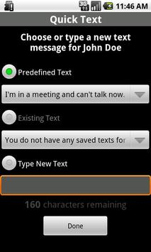 Quick Text Free apk screenshot