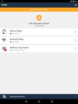 ZIMPERIUM Mobile IPS (zIPS) apk screenshot