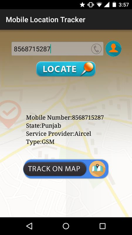 how to track a mobile number live location