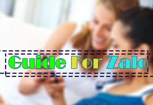 Best ZALO friends nearby tips apk screenshot