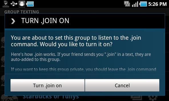 T-Mobile Group & Web Texting apk screenshot