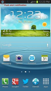 PushAlerts apk screenshot