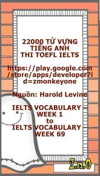22000 TỪ VỰNG THI TOEFL IELTS apk screenshot
