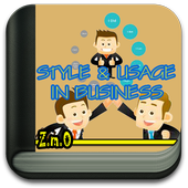 STYLE AND USAGE IN BUSINESS icon