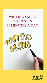 WRITING SKILLS SUCCESS A DAY poster