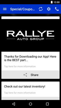Rallye Automotive Group apk screenshot