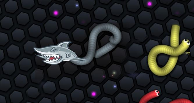 Shark Skins For Slitherio poster