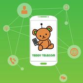 Teddy tel cheap mobile calls icon