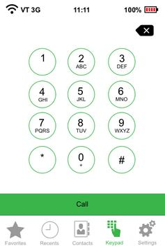 Teddy tel cheap mobile calls apk screenshot