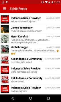 ZOHIB messenger apk screenshot