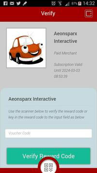 ZoomZoom Rewards Merchant apk screenshot