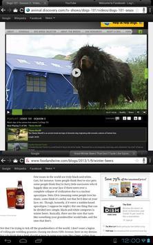 Thuban Tablet Browser apk screenshot