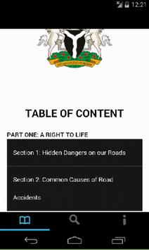 Nigeria Highway Code apk screenshot