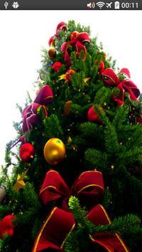 christmas scene decorations poster