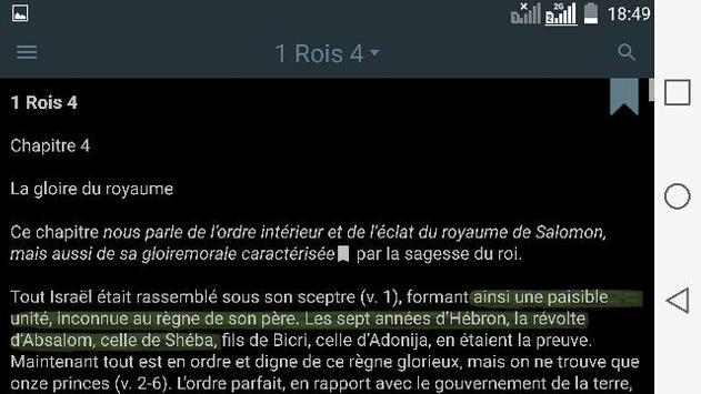 La Bible. Commentaires apk screenshot