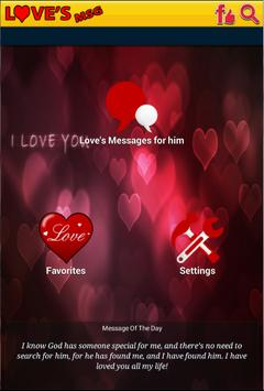 Love Messages For Him 2016 poster
