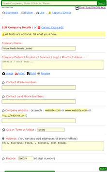 Company List India apk screenshot