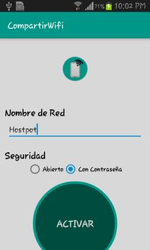 Compartir WIFI poster