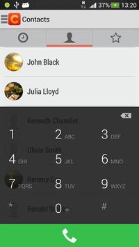 IP-Phone - cheap calls poster