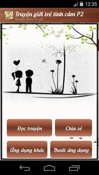 Truyện giới trẻ tình cảm P2 apk screenshot