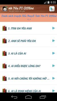 Tiểu Thuyết Tình Yêu P1 apk screenshot
